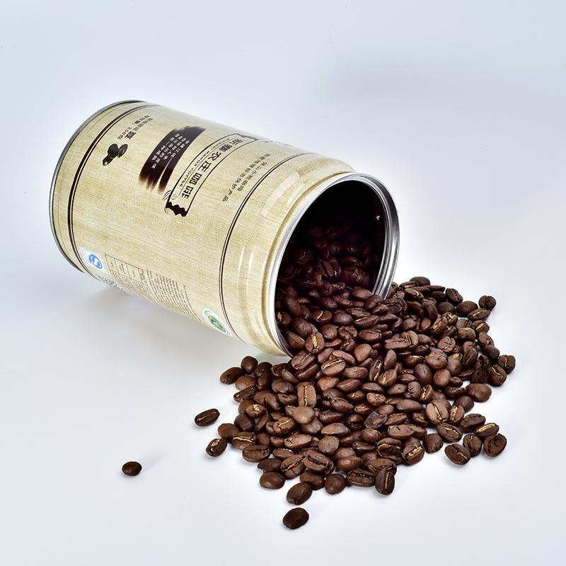 新寨 云南小粒咖啡豆铁毕卡250g罐装 铁皮卡中度烘焙咖啡